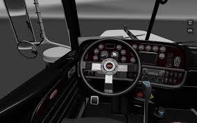 peterbilt 389 interior lights peterbilt 389 dark interior mod euro truck simulator 2 mods