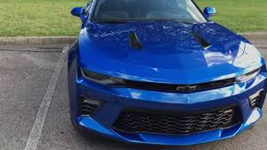 blue chevrolet camaro 2016 camaro ss hyper blue