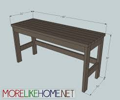 Free Wood Office Desk Plans by More Like Home Day 2 Build A Casual Desk With 2x4s