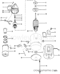 starter motor assembly mercruiser crowley marine section change