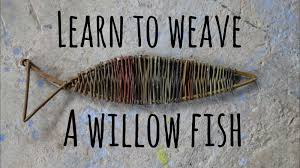 children u0027s craft ideas learn to weave a willow fish youtube