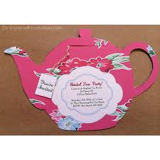 tea party teapot victorian cranberry with by doityourselfinvites