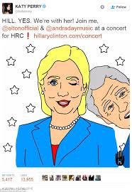 hillary clinton u0027s campaign has paid her celebrity supporter katy