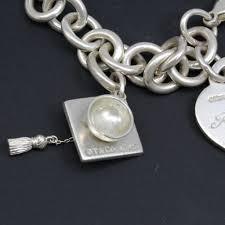 graduation cap charm sterling silver 39 9g co bracelet with graduation cap