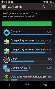 memory manager for android android developers process stats understanding how your app