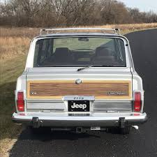 jeep wagoneer interior 1989 jeep grand wagoneer for sale 2041132 hemmings motor news