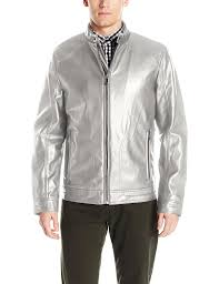 mens moto jacket calvin klein men u0027s smooth faux leather moto jacket at amazon men u0027s