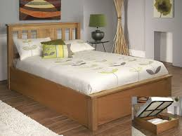 king size ottoman bed frame terran super king size oak ottoman bed frame