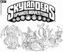 Coloriage Skylanders à imprimer