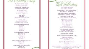 wedding reception itinerary wedding itinerary templates reception programs diy wedding 33762