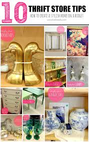 livelovediy my 10 thrift store shopping tips how to decorate on my 10 thrift store shopping tips how to decorate on a budget