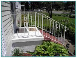 lowes aluminum deck railing kits 2
