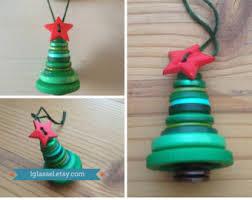 button snowman ornament