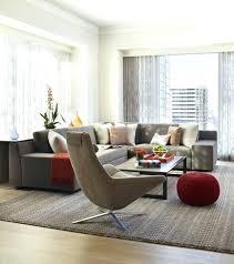 salon canap fauteuil salon canape gris deco salon moderne canapac gris fauteuil gris pouf
