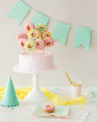 in cake toppers donut cake topper