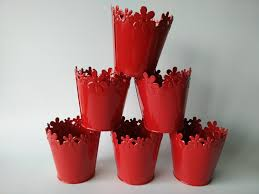Tin Buckets For Centerpieces by Online Get Cheap Red Metal Buckets Aliexpress Com Alibaba Group