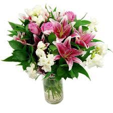 Cascade Bouquet Cascade Bouquet Fresh Flowers Free Uk Delivery