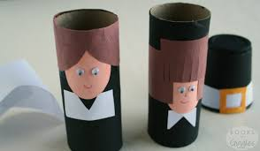 simple toilet paper roll pilgrims and a story of the
