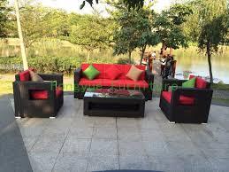 garden rattan sofa set furniture factory wholesale outdoor furniture