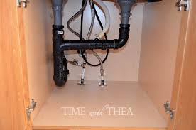 Sink Cabinet Kitchen by Under Kitchen Sink Plumbing Pleasant Ideas Office New At Under