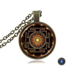 necklace with photo pendant images Sacred sri yantra necklace pendant project yourself jpg