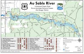 Ada Michigan Map by Au Sable River Chamber Of Commerce
