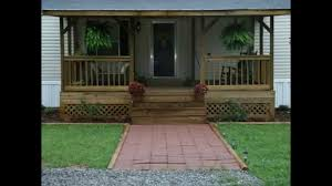 mobile home porch ideas youtube minimalist home porch design