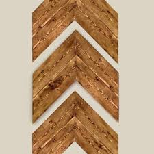 chevron wood wall set of 3 large wood chevron arrows wood from kelseybcrafts on