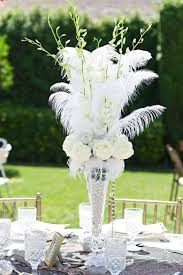great gatsby centerpieces great gatsby inspired wedding