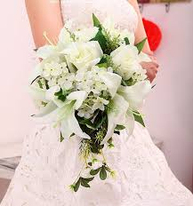 silk wedding bouquets lilies wedding bouquets tbrb info