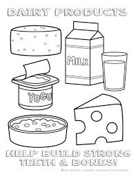 free printable healthy food coloring pages coloring page cartoon