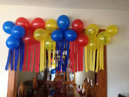 used this great idea for a superman birthday theme everyone