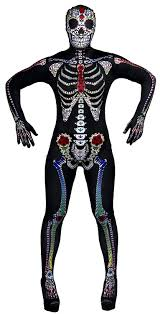 Ladies Skeleton Halloween Costume by Women U0027s Day Of The Dead Costume Ladies Halloween Sugar Skeleton
