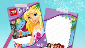 how to make pool party invitations activities lego friends lego com friends lego com