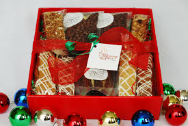 holiday coffee break gift basket with coffee homemade baked goods