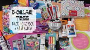 dollar tree back to giveaway supply haul