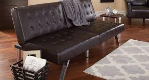 futon stunning futon bed set mainstays morgan faux leather