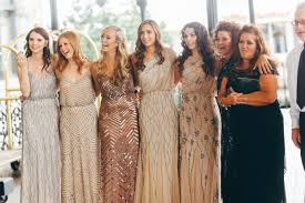 rent bridesmaid dresses 10 bridesmaid dresses in chagne gold and taupe posh