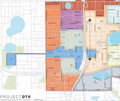 Map Of Orlando Parramore Community Clearly Divided By Mls Stadium In New City Map