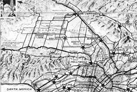 Bus Map Los Angeles by Water And Power Associates
