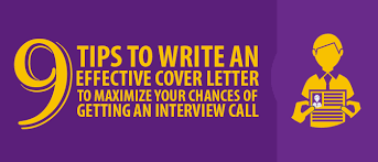 how to write an effective cover letter 9 tips to get you started