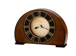 Mantel Clocks Amazon Com Bulova B7340 Tremont Clock Antique Walnut Finish