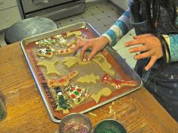 christmas cookies the kids can roll and the adults will eat the