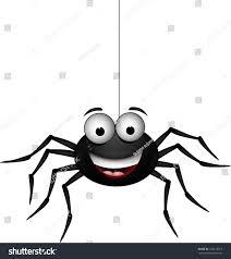 funny spider cartoon you design stock vector 122218012 shutterstock