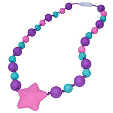 pink turquoise necklace images Sensory oral motor aide chewelry necklace chewy jpg