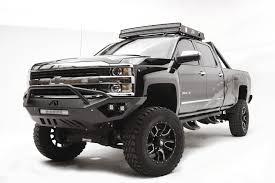 chevy prerunner truck vengeance front bumper fab fours