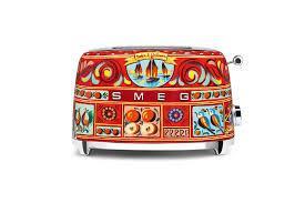dolce u0026 gabbana smeg kitchen appliances bring runway design