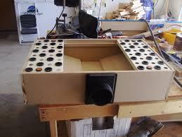 Downdraft Table By Hinklephil  LumberJockscom  Woodworking - Downdraft table design