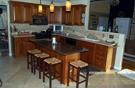 oak kitchen island with granite top granite top kitchen island