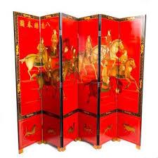 chinese screens handpainted fine room dividers